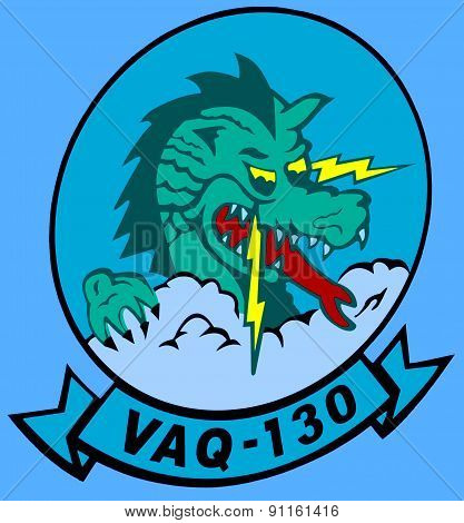 Logo of Electronic Attack Squadron 130