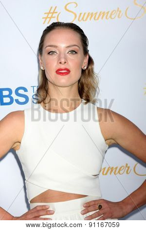 LOS ANGELES - MAY 18:  Rachel Skarsten at the CBS Summer Soiree 2015 at the London Hotel on May 18, 2015 in West Hollywood, CA