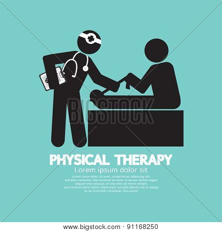 Black Symbol Physical Therapy.