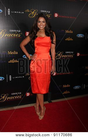 LOS ANGELES - MAY 19:  Tracey Edmonds at the 40th Anniversary Gracies Awards at the Beverly Hilton Hotel on May 19, 2015 in Beverly Hills, CA