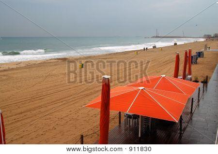 Rainy Sea
