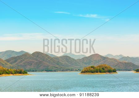 Kaeng Krachan Lake View