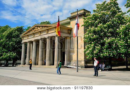The Neue Wache (New Guard) in Berlin.