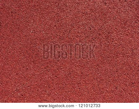 Running Track Red Ground Rubber Cover.