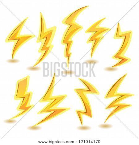 Lightning Bolts Set