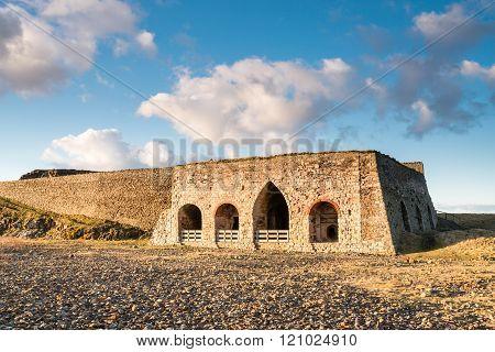 Lime Kiln At Lindisfarne