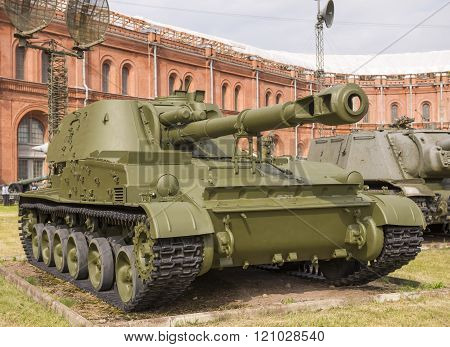 152-mm Self-propelled Howitzer 2S3