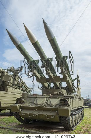 2P25M1-launcher (3M9M3 Missile) Anti-aircraft Missile System 2K12