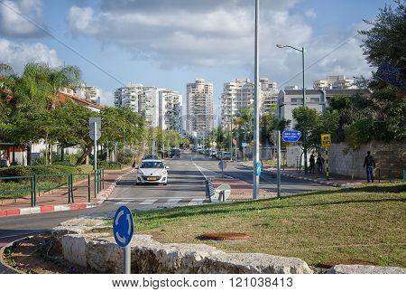 Mivtsa Moshe Street In Rishon Lezion