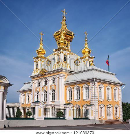 Grand petergof palace church