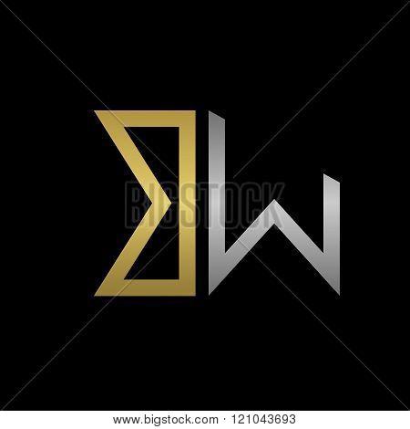 BW letters logo