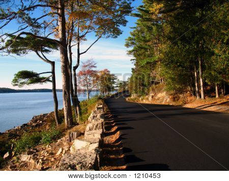 Coastal Road Maine