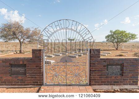 Graveyard Of Un-baptised Children In Springfontein