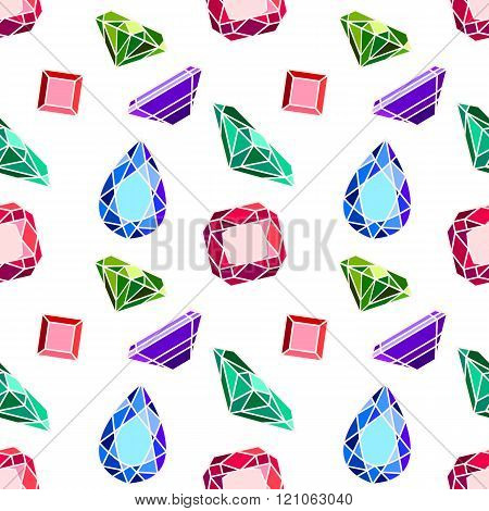 Diamond vector pattern
