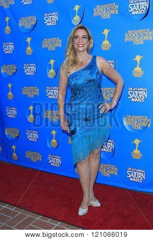 BURBANK - JUN 25: Chase Masterson at the 41st Annual Saturn Awards at The Castaway on June 25, 2015 in Burbank, California,
