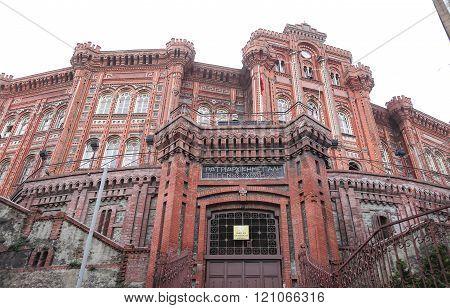 Phanar Greek Orthodox College in Istanbul City, Turkey