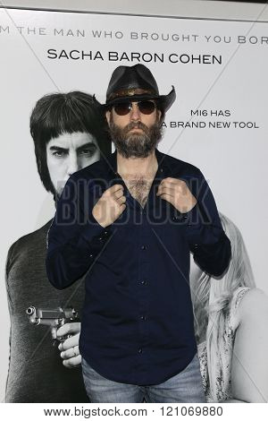 LOS ANGELES - MAR 3:  Wheeler Walker Jr at the The Brothers Grimsby Premiere at the Regency Village Theater on March 3, 2016 in Westwood, CA