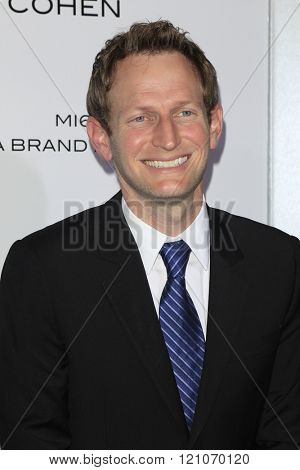 LOS ANGELES - MAR 3:  Todd Schulman at the The Brothers Grimsby Premiere at the Regency Village Theater on March 3, 2016 in Westwood, CA