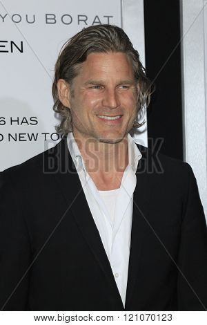 LOS ANGELES - MAR 3:  Noah Huntley at the The Brothers Grimsby Premiere at the Regency Village Theater on March 3, 2016 in Westwood, CA