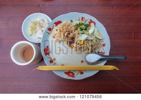 Myanmar local noodle