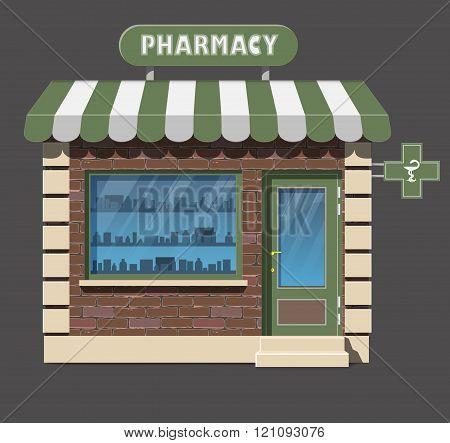 pharmacy drugstore icon