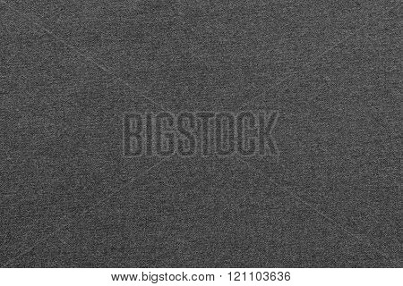 Textured Background From Textile Fabric Of Gray Color