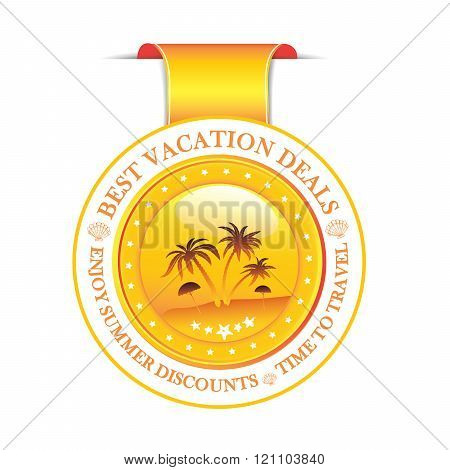 Best Vacation deals. - ribbon