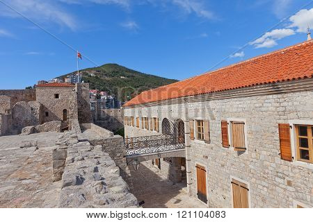 Citadel In Old Town Of Budva