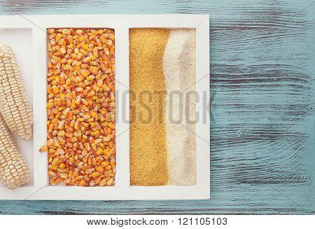 Assortment of corn