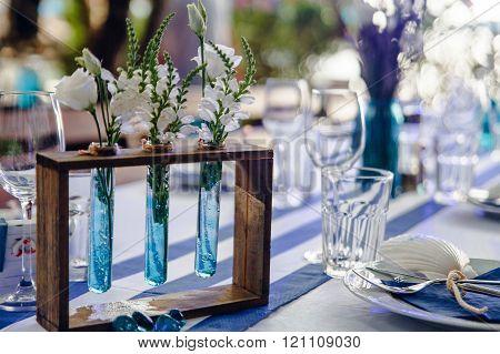 Fragment Of Wedding Decorations