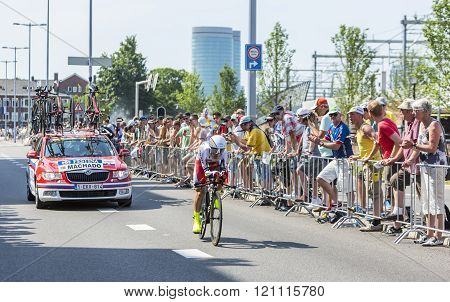 The Cyclist Tiago Machado - Tour De France 2015