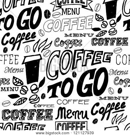 Hand Lettering Signs Coffee