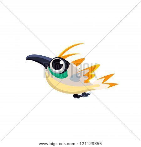 Multicolor Paradise Bird
