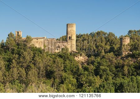 Medieval Buildings In Catalunya (spain)