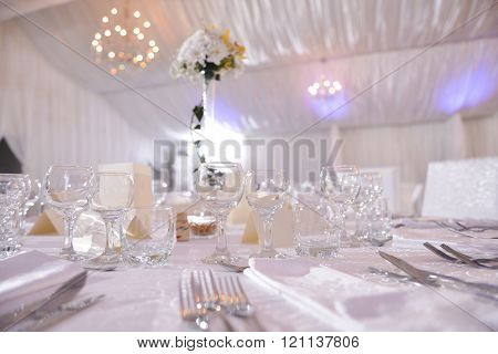 Wedding Table In Natural Light