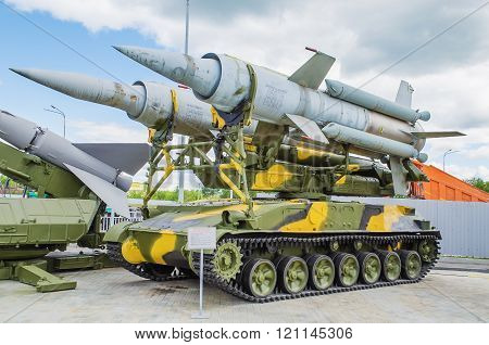 Self-propelled Launcher Anti-aircraft Missile System 2k11