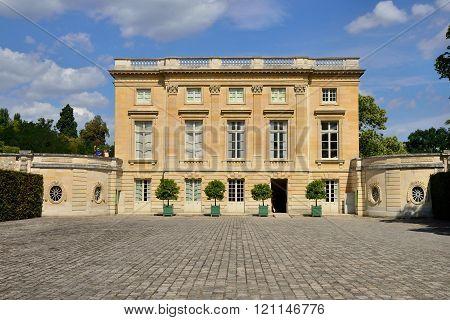 Versailles, France - August 19 2015 : Versailles Castle