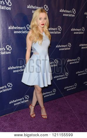 LOS ANGELES - MAR 9:  Dove Cameron at the A Night at Sardis - 2016 Alzheimer's Association Event at the Beverly Hilton Hotel on March 9, 2016 in Beverly Hills, CA