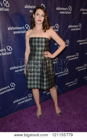 LOS ANGELES - MAR 9:  Lauren Miller at the A Night at Sardis - 2016 Alzheimer's Association Event at the Beverly Hilton Hotel on March 9, 2016 in Beverly Hills, CA