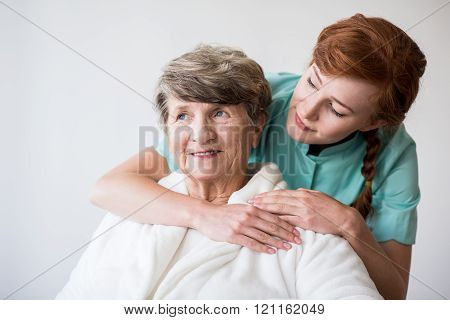 Nurse On Geriatric Ward