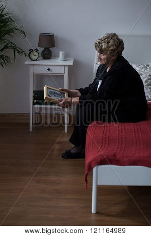 Sadness Of Widow