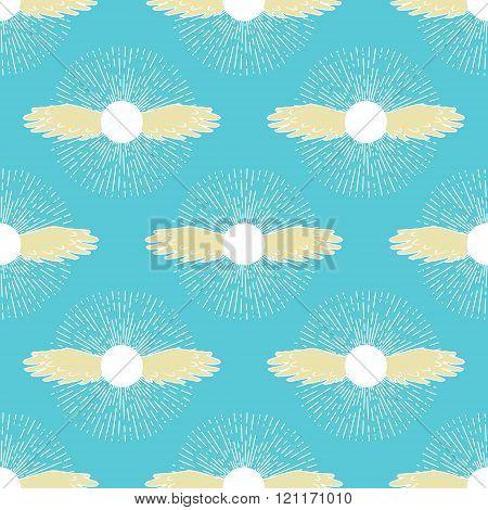 Winged sun symbol