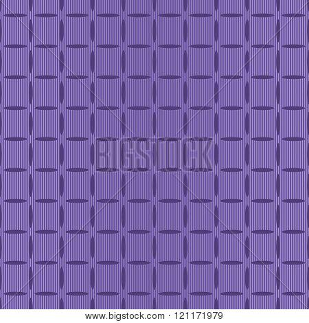 Seamless Purple Pattern Of Elongated Oval Elements