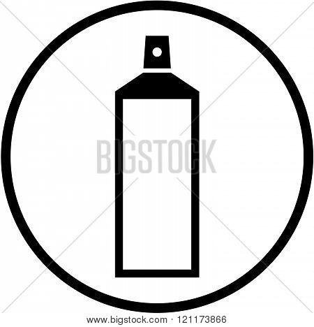 Spray - Vector icon isolated