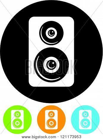 Speaker - Vector illustration