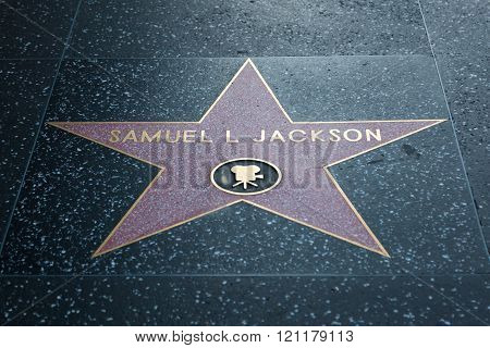 Samuel L Jackson Hollywood Star