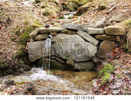 spring of water