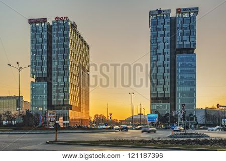 City Gate Towers, Bucharest