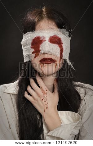 Girl With Blood
