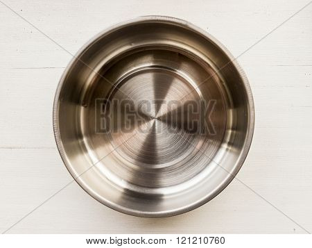 The silver Metal object and background.